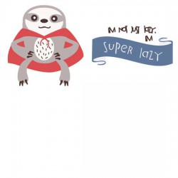 Diddle Daily - Super Sloth - CS