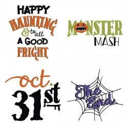Monster Mash - Haunted House - Aphorisms - GS
