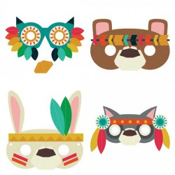 Spirit Animals - Masks - CP