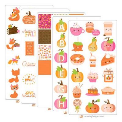 Pumpkin Spiced - Graphic Bundle