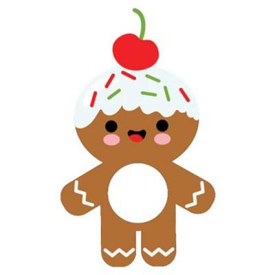 Gingerbread Spread - Lip Balm Holder - CP