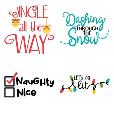 So Very Merry - Sayings - GS