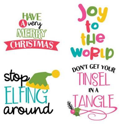 So Very Merry - Sayings - CS