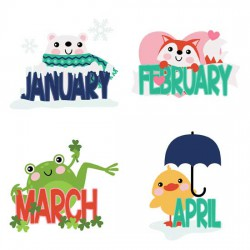 Calendar Animals - GS