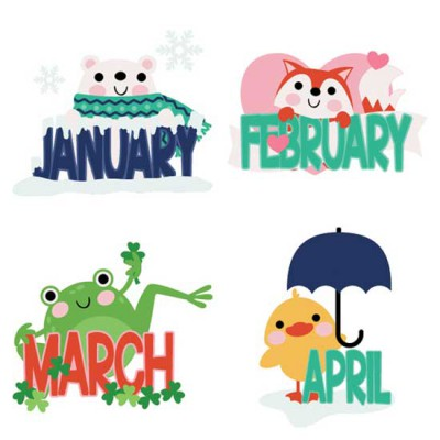 Calendar Animals - CS