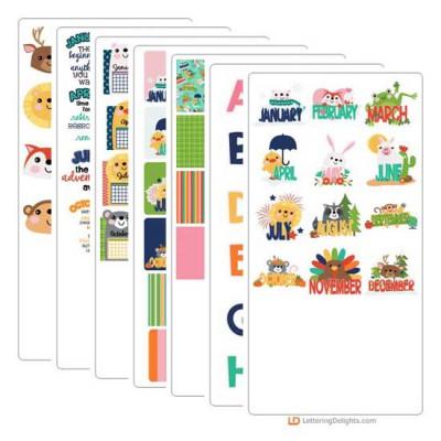 Calendar Animals - Graphic Bundle