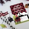 Channel The Flannel - Party Printables - PR -  - Sample 2