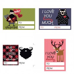 Channel The Flannel - Love Valentines - PR