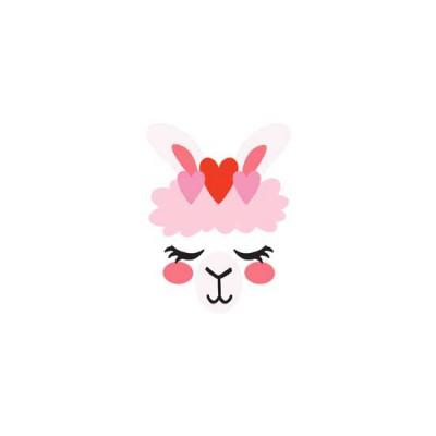 Llama Love - Face - GS