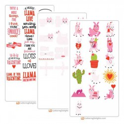 Llama Love - Cut  Bundle