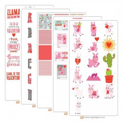 Llama Love - Graphic Bundle