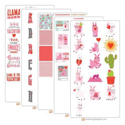 Llama Love - Graphic Bundle