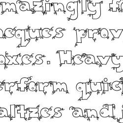LD Piglet - Font