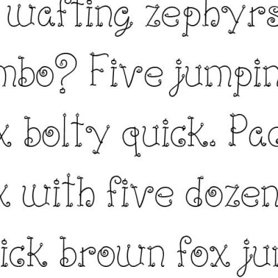 LD Cherry Serif - Font