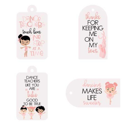 Just Dance - Gift Tags - PR