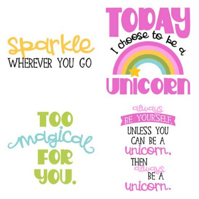 Uni-quely Cute - Phrases - GS