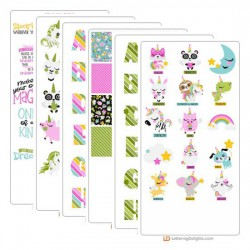 Uni-quely Cute - Graphic Bundle