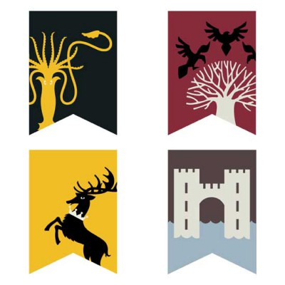 Royal Thrones - Pennants - GS