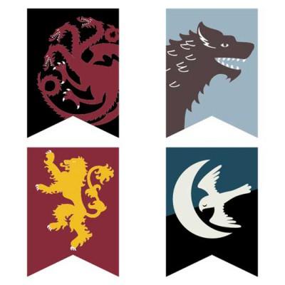 Royal Thrones - Pennants - CS