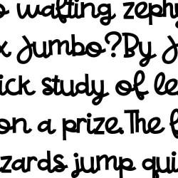 ZP Yakety Script Bold - FN