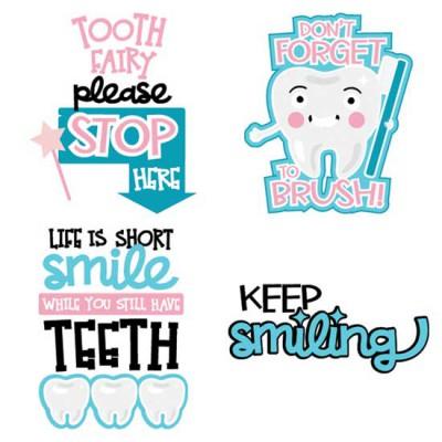 Twinkle Teeth - Sayings - CS