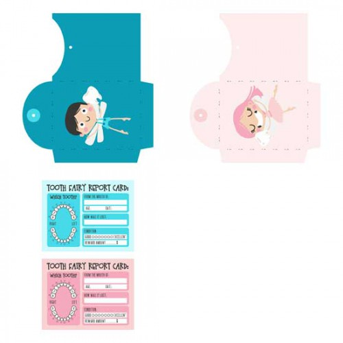 image relating to Tooth Fairy Card Printable identify Twinkle Tooth - PR