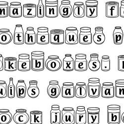 LD Jars - Font