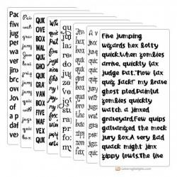 Silhouette Super Bundle - Font Bundle