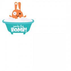 Little Monsters - Bath Bomb Tag - CS