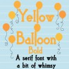 PN Yellow Balloon Bold - FN -  - Sample 2