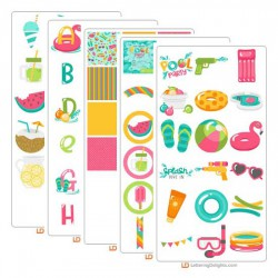 Pool Party - Graphic Bundle