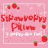 PN Strawberry Pillow - FN -  - Sample 2