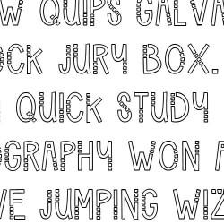 LD Triple Box - Font