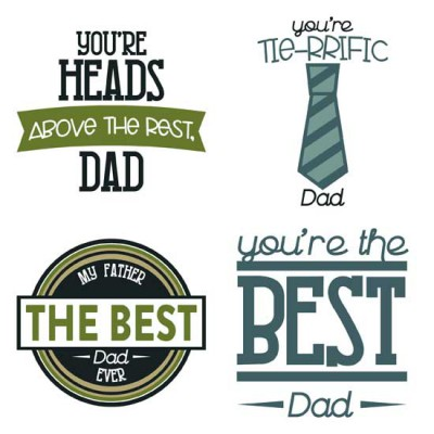 Hats Off To Dad - Sentiments - GS