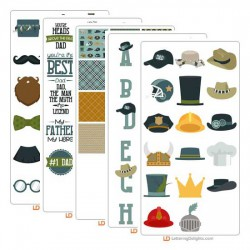 Hats Off To Dad - Graphic Bundle