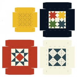 Farmhouse - Amish Quilt - Boxes - CP