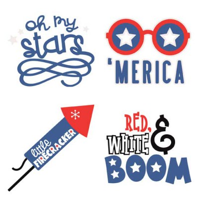 Contempo Independence Day - Phrases - GS
