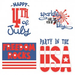 Contempo Independence Day - Phrases - CS