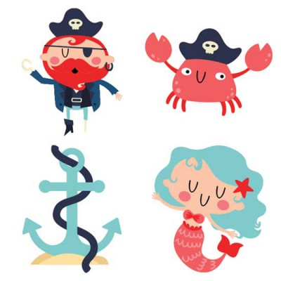 Ships Ahoy - Pirates - CS