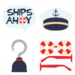 Ships Ahoy - Photo Props - GS