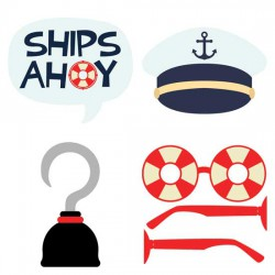 Ships Ahoy - Photo Props - CS