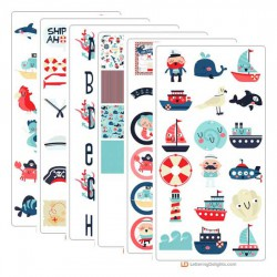 Ships Ahoy - Graphic Bundle
