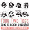 DB Tobe Two Toes - Goes To School - DB -  - Sample 2