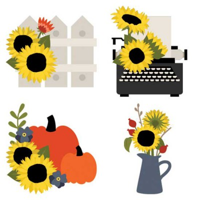 Sunflowers - and Things - CS