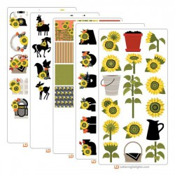 Sunflowers - Graphic Bundle