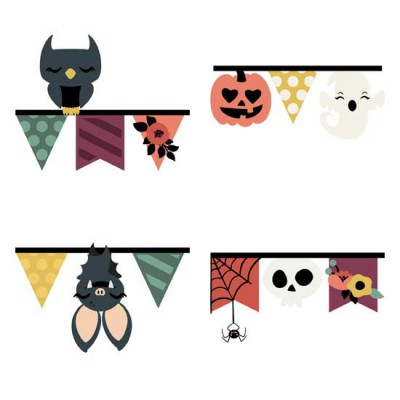 Whimsy Witch - Pennant Borders - GS