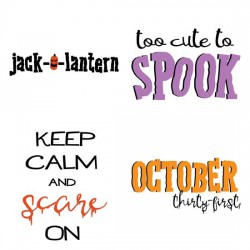 Halloween Squared - Sayings - GS