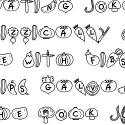 LD Veggies - Font