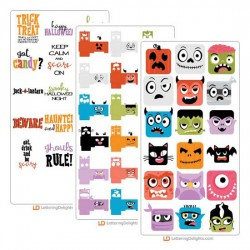 Halloween Squared - Cut Bundle