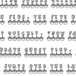 LD Potted - Font